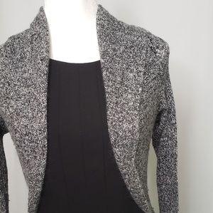 WHBM Soft Gray Shrug Sweater